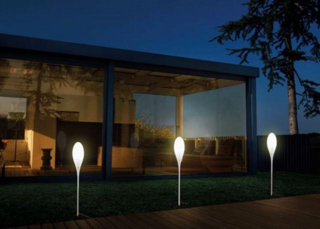 Piantane da esterno tecnica nella luce led design lampade - Lampade da esterno moderne ...